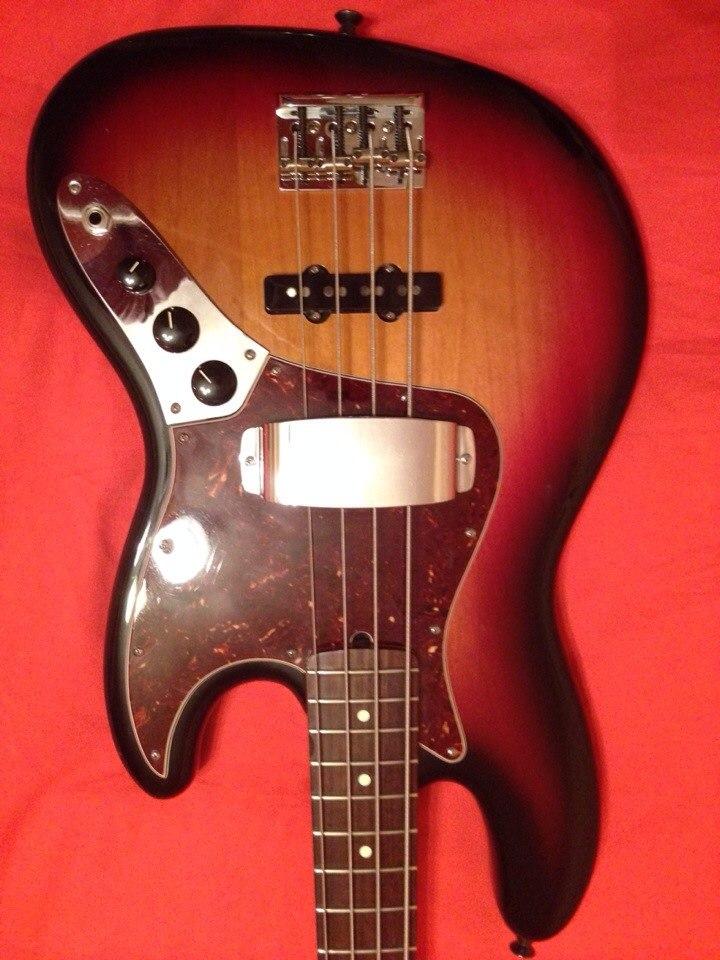 Продам бас гитару от fender gl jazz bass, киев, 2100