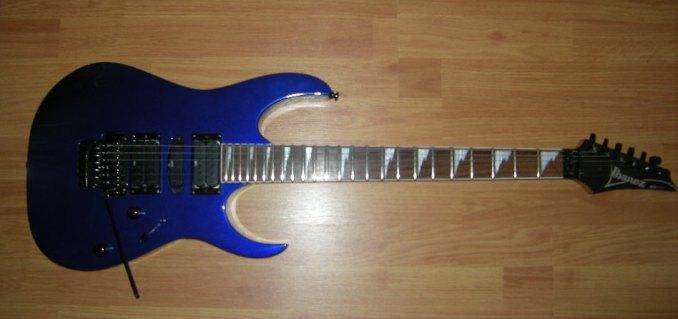 Тест гитары ibanez rg370dx